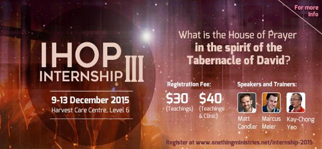 IHOP Internship III