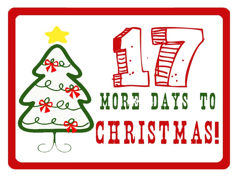 25 Days To Christmas Countdown - December 8 (Things To Do)